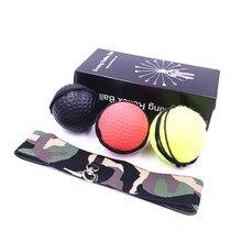 3 Pcs Stanz Speed Ball Boxing Kampf Ball Gummi Ball Für Boxing Training Verbessern Reaktion Mit Stirnband Antwort Ausbildung