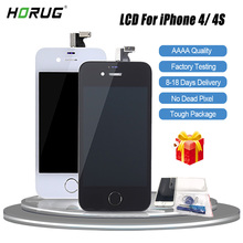 HORUG 100 AAAA Original LCD Screen For iPhone 4S 4