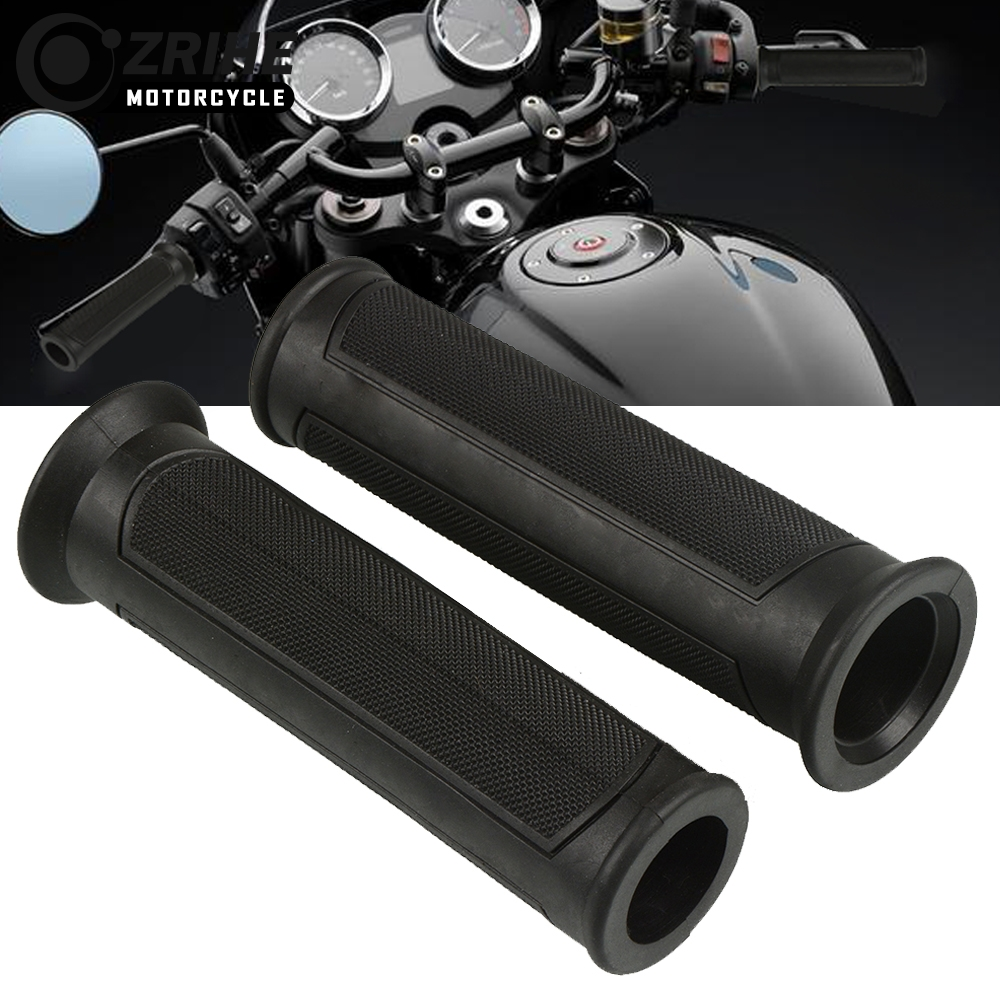 Motorcycle Accessories Rubber Handle Bar Handlebar Motorbike Hand Grips For <font><b>Suzuki</b></font> <font><b>GSXR</b></font> 600 750 1000 <font><b>1100</b></font> DL 650 1000 V-STROM image