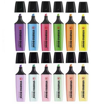 Stabilo Boss Original Highlighter Ink Pen Markers - Choose from 15 Colours image
