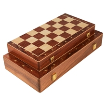 Gift-Board Foldable Wooden with Built-In Storage-Box