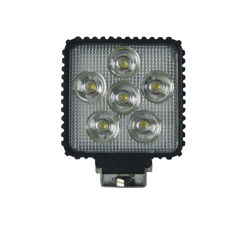 Square 18 W LED Work Light Engineering Maintenance Lighting Industrial And Mining Equipment Headlamps