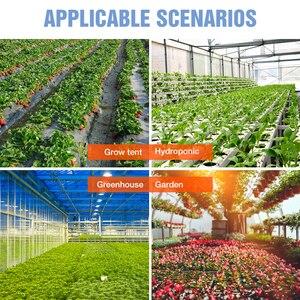 Image 5 - Pełne spektrum 300W 500W oświetlenie LED do uprawy 220V lampa fito dla rośliny doniczkowe i kwiat szklarnia Box 110V ue US UK wtyczka