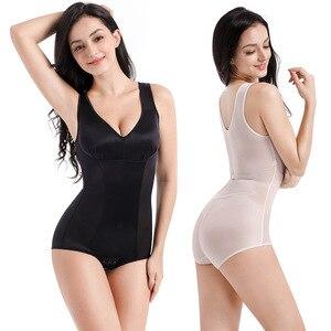 Mujer Body moldeador adelgazante ropa interior Body Shaper Shapewear Sexy recuperar modelado reductor de grasa cintura corsé piedra de poder