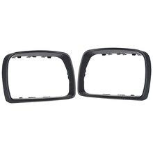 Nouveau côté voiture aile rétroviseur garniture bague lunette couvercle pour BMW E53 X5 3.0d 3.0i 4.4i 1999 2006