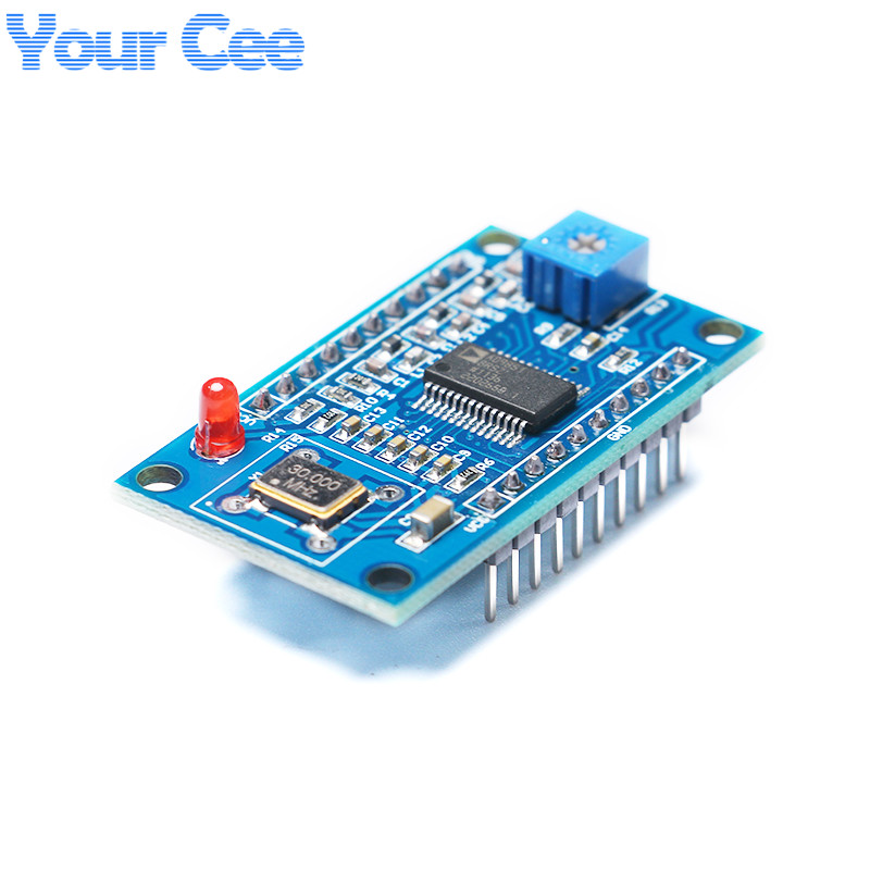 2pcs 0-40MHz AD9850 DDS Signal Generator Module 2 Sine Wave And 2 Square wave