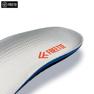 Image 4 - Palmilhas elásticas altas confortáveis da palmilha dos esportes da absorção de choque de freetie eva para sapatas de couro dos esportes que executam sapatas ocasionais