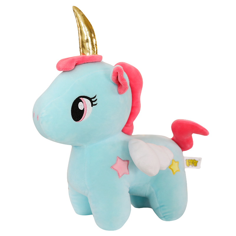 Cute <font><b>Unicorn</b></font> Plush <font><b>Toy</b></font> Baby Kids Appease Doll Sleeping Pillow Animal Stuffed Small Soft <font><b>Toy</b></font> Birthday Gifts <font><b>For</b></font> <font><b>Girls</b></font> Children image