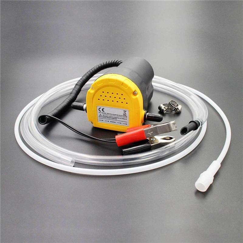Electric Pumps Car/Motorbike Oil Diesel Transfer Portable Siphon Pump 12V 60W Extractor Fluid Self-priming 12V/24V