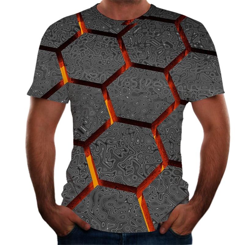 Men's T-shirt Summer New Style 3D Printed Short Sleeves Tshirt Men Fashion Comfort Male Tee Top Streetwear Camisetas Hombre
