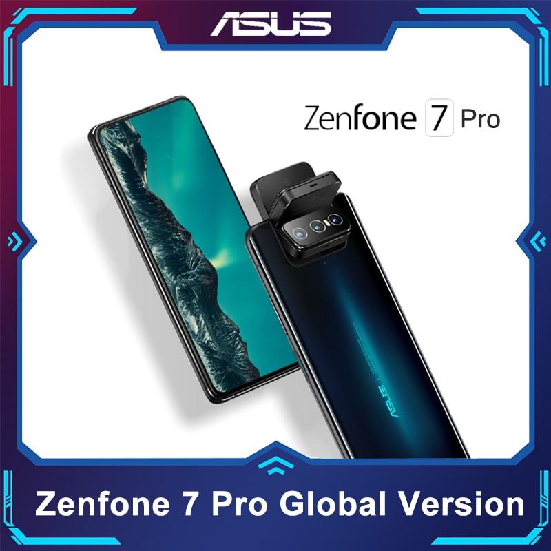 ASUS Zenfone 7/ 7Pro 8 Гб Оперативная память 128/256 ГБ Встроенная память Snapdragon 865/865 плюс 5000 мАч NFC Android Q 90 Гц 5G смартфон глобальная версия