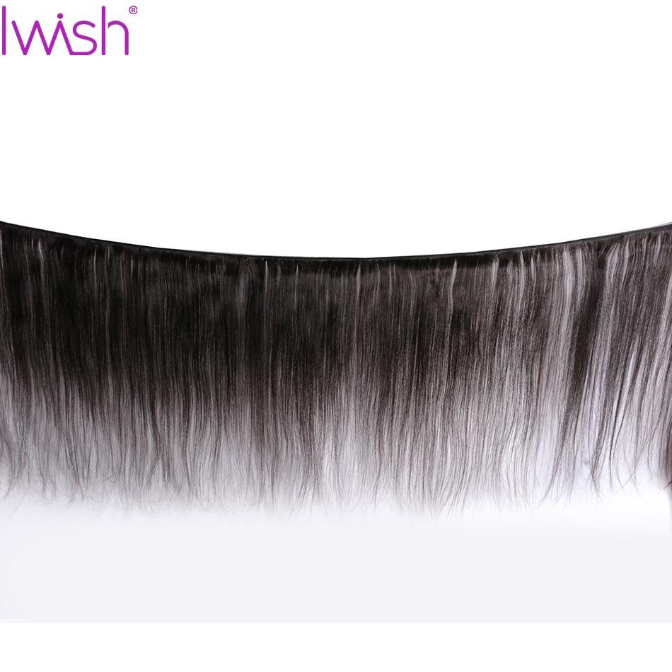 Raka hårbuntar Brasilianska hårvävbuntar mänskliga hårbuntar - Mänskligt hår (svart) - Foto 2