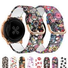 Inteligente de la venda de reloj para samsung galaxy activo 2 40mm 44mm reloj huawei gt 2/2E amazfit gts Samsung galaxy reloj de 42mm 3 41mm Correa