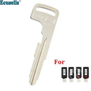 Chave inteligente sem chave, lâmina remota de entrada, chave de inserção para mitsubishi lancer outlander asx ecbatom galant
