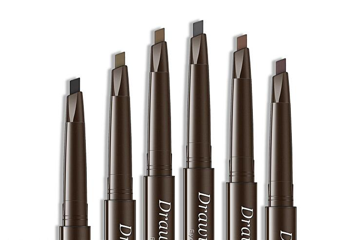 Купить с кэшбэком 4 Colors Tint For Eyebrow Pencil Cosmetics Makeup Double Ended Waterproof Eye Brow Pen Long-Lasting Tattoo Pencil Eyebrow