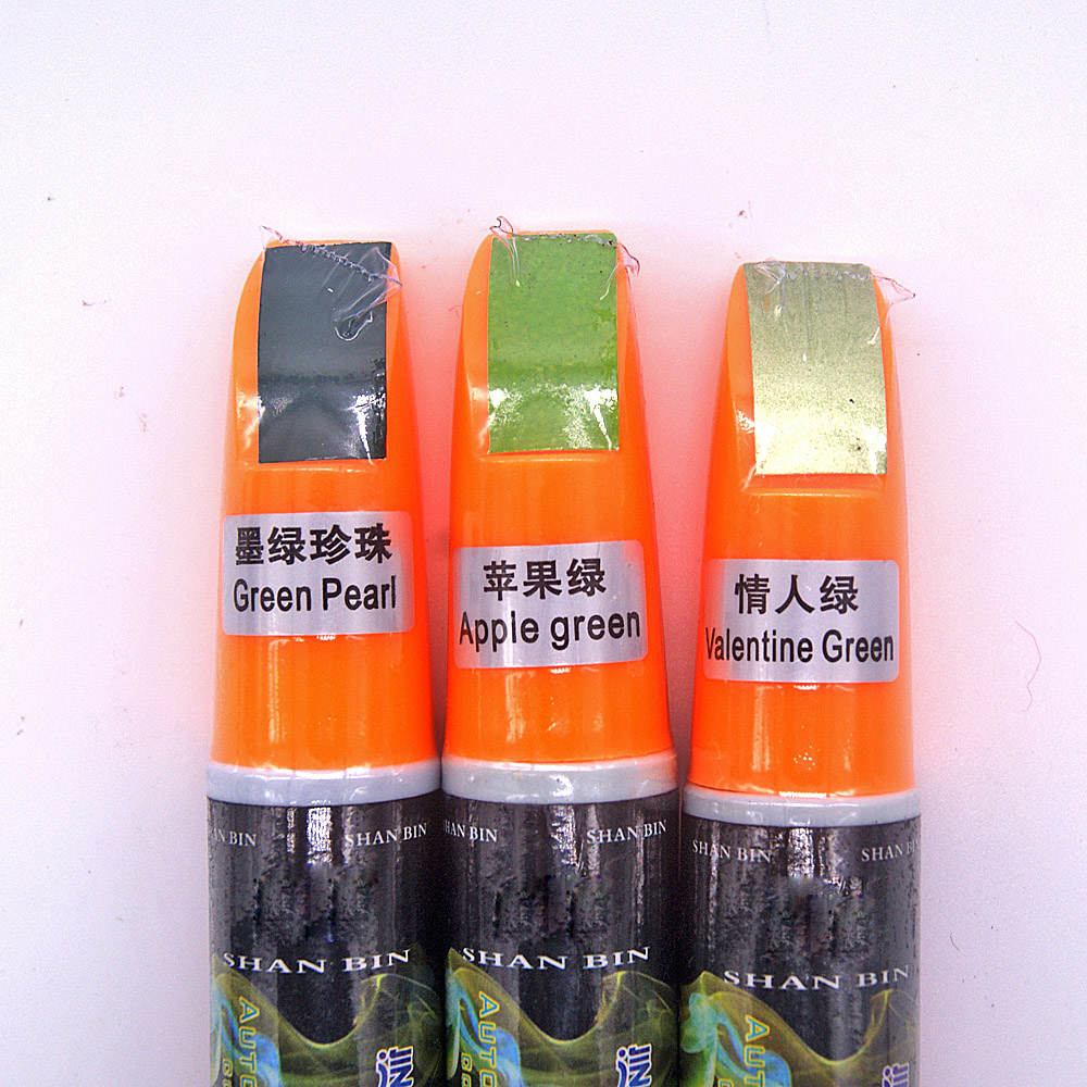 1Pcs Green Car Paint Care Remover Scratch Repair Paint Pen Mending Paint Repair Care Accessories