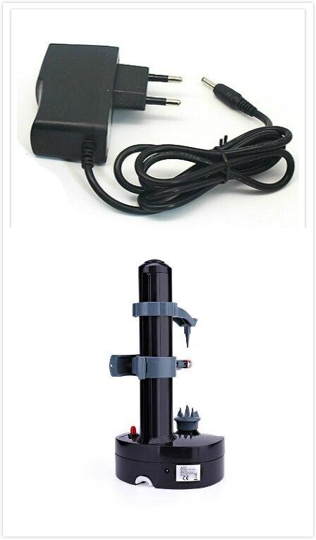Black with EU plug