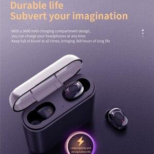 Image 4 - Tws Draadloze Hoofdtelefoon Bluetooth Koptelefoon Headsets X18 Draadloze Hoofdtelefoon Handsfree Oordopjes Sport Oortelefoon Telefoons Met Mic