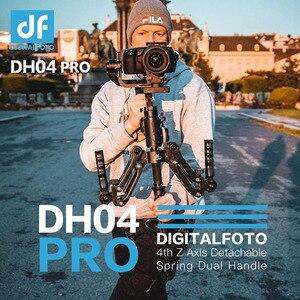 Image 1 - DH04 PRO Dual Griff Stabilisator 3 achsen Gimbal Frühling 4,5 kg bär mit strap für RONIN S/SC WEEBILL S & LABOR KRAN 3/3S Moza Air 2
