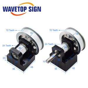 Image 4 - WaveTopSign CO2 לייזר מתכת חלקי שידור לייזר ראש סט מכאני רכיבים עבור DIY CO2 לייזר חריטת מכונת חיתוך