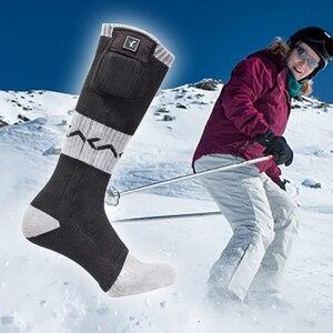 Image 5 - יום זאב חדש מחומם גרבי חורף חם סקי חיצוני ספורט גרבי נוזל לרדיאטור חימום רכיבה גרבי 2020