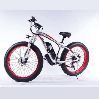 XDC600-8 2020 Upgraded MTB 800w/1000w 26'' Electric Bicycle FAT TIRE  48V 17.5 AH S^MSUNG Battery for Adults 1