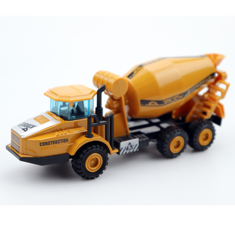 1:32 Diecast Mini Construction Vehicle Engineering Car Dump-car Dump Truck Artificial Model Classic Toys For Boy Kids