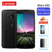 Global ROM Moto G5S XT1799 2 4GB 64GB Smartphone 5.2 Snapdragon 430 Front Rear 16MP Octa Core Cellphone Support NFC 3000mAh