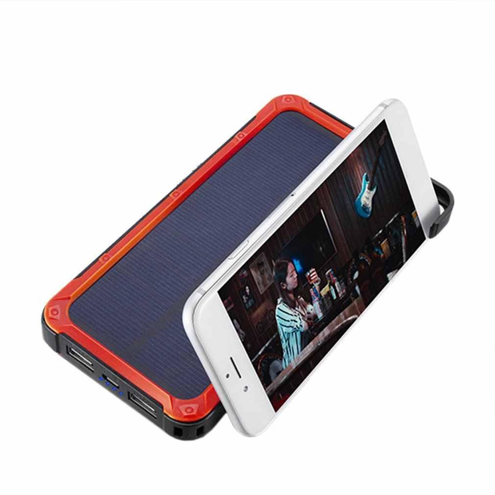 ポータブル太陽電池 20000 携帯電話のバッテリー充電器外部バッテリーバックアップ電源 iphone Powerbank バッテリー
