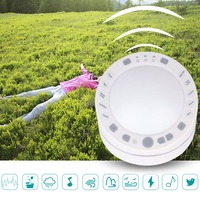 ABS Music USB Rechargeable White Noise Nightlight Timing Recording Travel Baby Office Soothing Sleep Sound Machine Relaxation