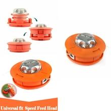 Trimmer Aluminum Cutter Mower-Accessories Grass-Brush Head-Lawn Feed-Line Universal Bump