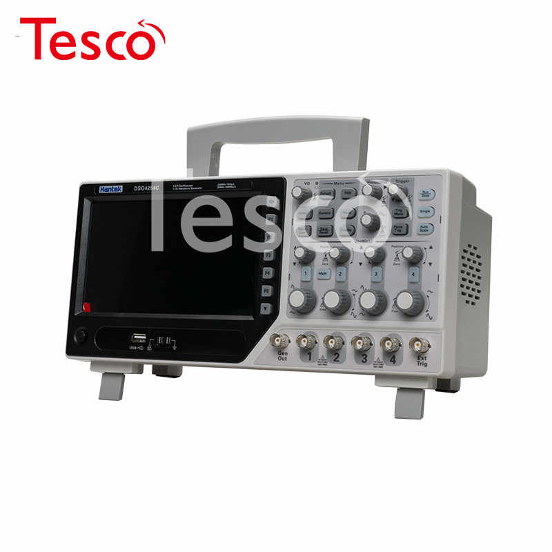 DSO4084C DSO4104C DSO4204C DSO4254C Digitale Oscilloscoop 4CH 80-250 Mhz 1gsa/S + 1CH Arbitrair Functie Waveform Generator