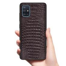 Drop Bescherming Business Leather Case Voor Samsung Galaxy A51 A71 A81 A91 Note 20 Ultra A21S A10 A20 A30 S20 fe S10 Plus A70 A50