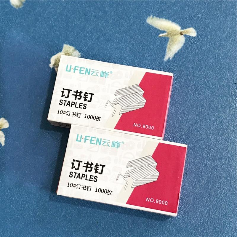1000pcs/set No.10# Staples For Mini Stapler Book Sewer Stitcher Stitching Needle Nail
