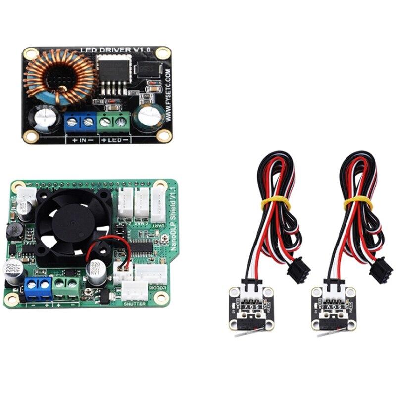 3D Printer Parts 1 pcs Boost 30W LED Driver Board Module 3D Printer Parts