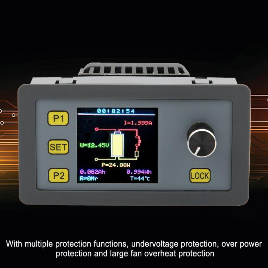 Battery Tester Electronic Load Module Multifunctional Color Screen Adjustable Constant Current Wel3005 30w 5a