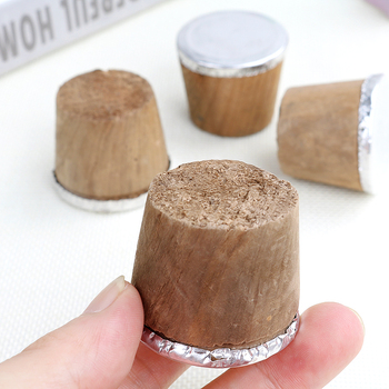 Wood Thermos stopper sealed Safe Cork Plug Lid Cap Bottle Cork Plug for home vacum flask Replace Kettle Accessories image