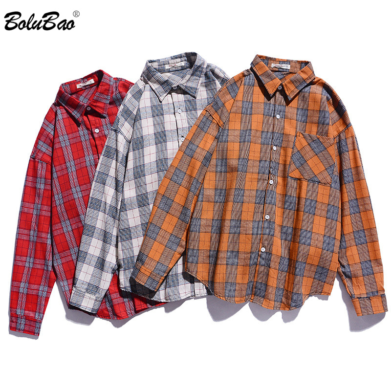 BOLUBAO Brand Men Long Sleeve Plaid Shirt Autumn Men's Comfortable Thin Section Shirt Male Business Casual Shirts Tops