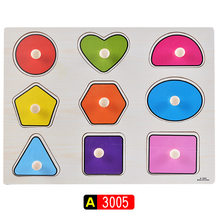 Kid Early Educational Puzzles Toys Baby Geometry Graphic Wooden Puzzle Toys Alphabet And Digit Learning Kids Wood Jigsaw Toys(China)