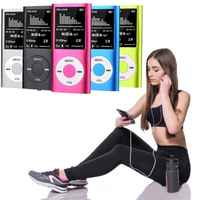 Colorful MP3 Music Player HIFI MP3 Player Digital LCD Screen Voice Recording FM Radio Support Multiple Languages+