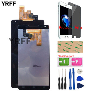 Image 1 - LCD Display Mobile For Philips Xenium W6610 W6618 LCD Display + Touch Screen Digitizer Assembly Tools Tape Protector Film