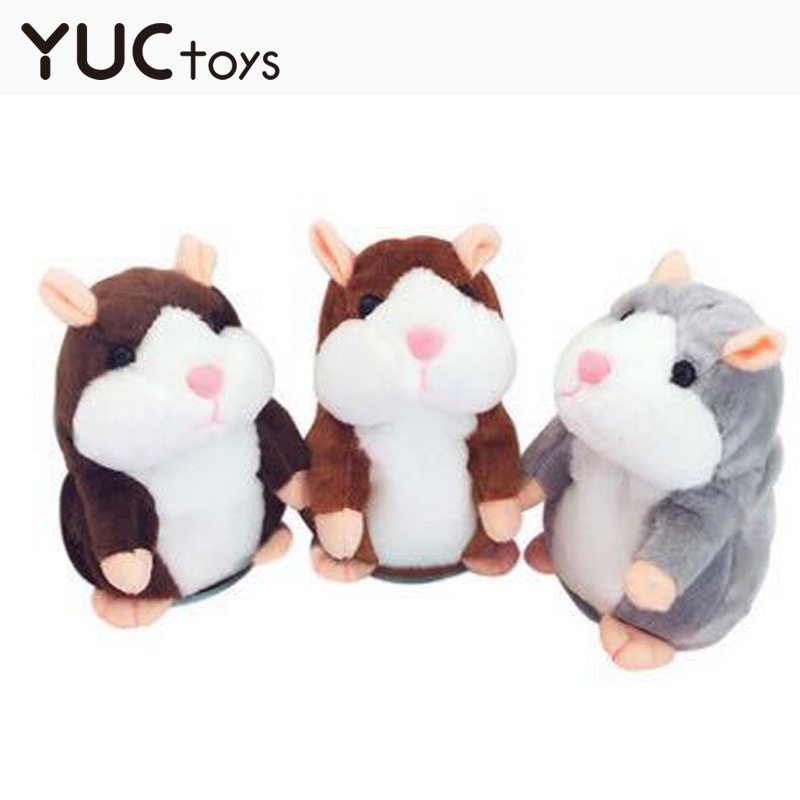 Talking Plush Toy For Children Cute Hamster Repeated Talking Toys For kids Walking Nodding Pet 2020 New Toys Electronic Toy