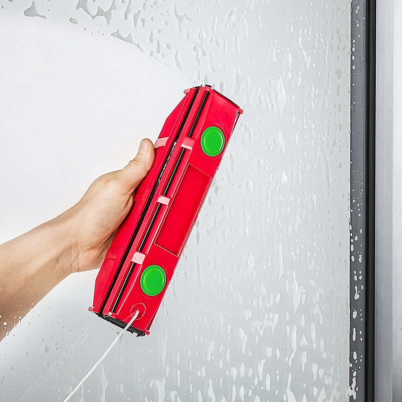 2020 New Glass Wipe Double-sided Magnetic Wipe Window Artifact High-rise Insulating Glass Cleaning Tool Window Wiper