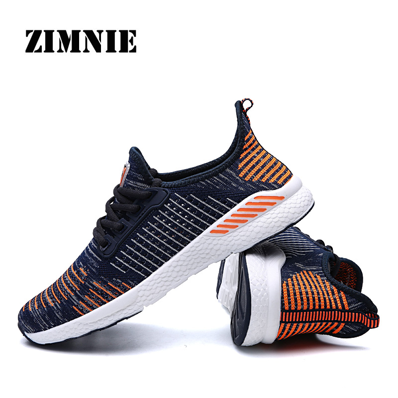 ZIMNIE Men's Sneakers Adaptive Running Shoes Absorbing Shock Technology Lightweight Gym Fitness Sneakers Woman Footwear