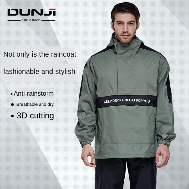 Thin Raincoat Rain Pants Suit Men and Women Jacket Adult Outdoor Rain Coat Poncho Waterproof Hiking Mens Sports Suits Gift Ideas 1