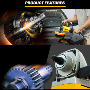Image 5 - High Speed Car Polisher 6 Variable Speed 1200W High Power Car polisher For Car Paint Care Polishing Waxing Free Pad Bonnet