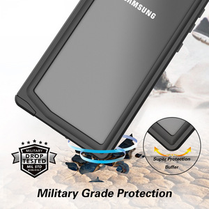 Image 3 - Şnorkel için orijinal su geçirmez kılıf Samsung not 10 artı kılıf dalış sualtı kapak Samsung Galaxy not için 10 artı kabuk