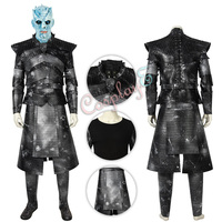 Night King Costume Game of Thrones Season 8 Cosplay Deluxe Version Full Set
