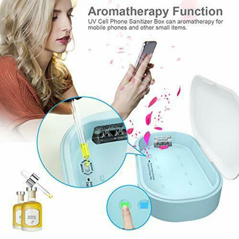 Mobile Phone Sterilizer Suitable For All Phone, Android Devices, Pacifiers, Smart Watches, Headphones, Keys
