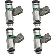 4PCS Fuel injector for RENAULT CLIO 2 Laguna Megane Scenic Thalia 1.4 1.6 iwp143 0280158170 8200128959 75112142 50102602 8050015